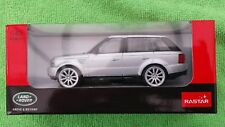 Rastar 1:43 Scale Range Rover Sport in Silver Diecast Model Car *BRAND NEW*
