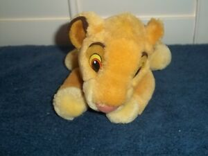 LION KING'S SIMBA PLUSH TOY - 9 INCHES