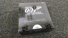 James Bond Archives 2015 Edition - Factory Sealed Box w/ 2 Autographs