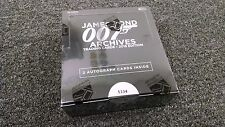 James Bond Archive 2015 Edition - Ovp Verpackung W/ 2 Autogramme