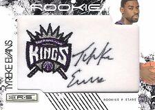 Tyreke Evans 2009-10 Panini Rookies & Stars Autograph Team Patch 304/379 RC Auto