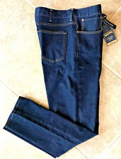Daniel Cremieux Premium Denim Jeans Mens 38 34 Straight Fit Dk Wash Stretch NWT