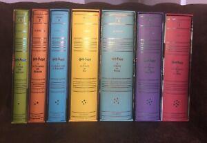 Collection Complète 7 Harry Potter Édition DE LUXE Gallimard 2009 - Comme Neuf.
