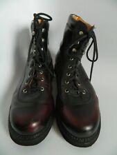 John Fluevog Maroon Mens Boots Seventh Heaven Sole Size 12