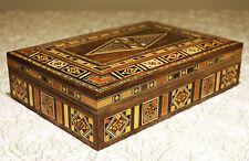Holz Schmuckkasten Box Schmuckschatulle,Geschenkbox ,von Damaskunst k 2-3-41