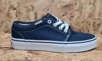 Vans 106 Chukka Style Authentic Navy White Trainers Old Skool Canvas Ship World
