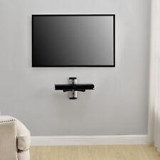 [en.casa] DVD hifi verre étagère montage mural Support récepteur en mur