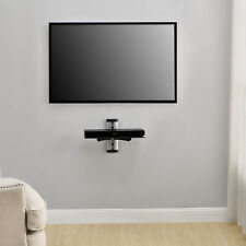 [en.casa] DVD HiFi Glass Shelf Rack Wall Holder Mount Receiver Shelves