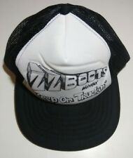 ZZ Boots Wildman Leather And Lace Truckers Hat Keep On Truckin Vintage 80s