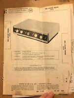 Bell 2325 SAMS Photofact Schematic Repair Manual Original Paper Poor Condition