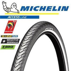 Michelin Bike Tyre - Protek - 700 x 32C - Wire - City Treking