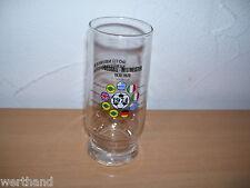 Bier Fußballweltmeisterschaft 1974 Glas WM 74 Rottenburger Schützenbräu 0,25l