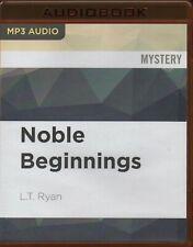 NOBLE BEGINNINGS (Jack Noble) by L. T. Ryan ~ Unabridged MP-3 CD Audiobook