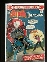 THE BRAVE AND THE BOLD #104 DC COMICS 1972 FN/VF BATMAN, DEADMAN