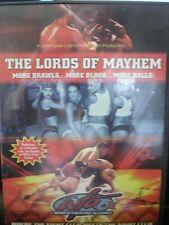 THE LORDS OF MAYHEM (DVD)  WORLD FIGHTING ALLIANCE WORLD SHIP AVAIL!