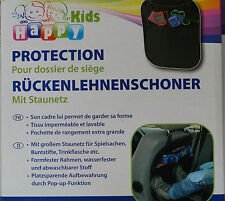 Happy Kids Rücklehnenschoner mit Netz Auto Kinder Spielzeug Schutz Lehne