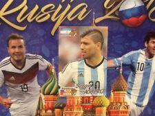 #189 Sergio Agüero Argentina schoolshop Copa Del Mundo Rusia 2018 Etiqueta Engomada de la ciudad de hombre