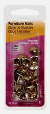 New! Hillman Hammered 1/2 in. L Furniture Nail Smooth 25 pc. 122688