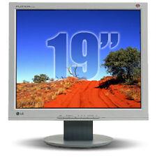 "LG FLATRON 19"" L1915S Monitor PC LCD  Ottimo stato 19 VGA"