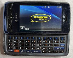 LG Rumor Touch LN510, Blue Sprint Cellular Phone