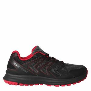 Karrimor Mens Caracal Trail Running Shoes Shoes Trekking Trainers Laces