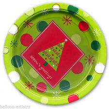 Paper Christmas 10-50 Party Plates