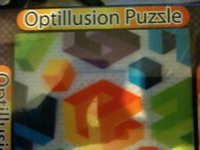 OPTILLUSION PUZZLES: CUBES 3D brainteaser SPATIAL & LOGICAL SKILLS 10+