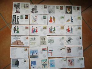 Bund - Jahrgang 1991 Nr. 1488 -1581 überkomplett auf Künstler-FDC - ansehen!!