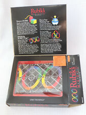 Vintage 1986 Matchbox Rubik's Magic Puzzle Cube in Original Box Link The Rings