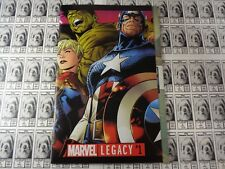 Marvel Legacy (2017) Marvel - #1, Avengers, Over-Sized 68 Pgs, Aaron/Ribic, NM/-