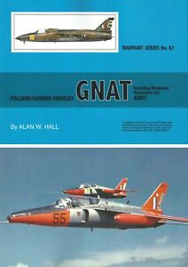WPS67  NEW Warpaint Series Books 67 Folland / Hawker Siddeley Gnat and HAL AJEET