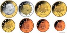 LETONIA serie completa euros 2014 - Latvia 2014