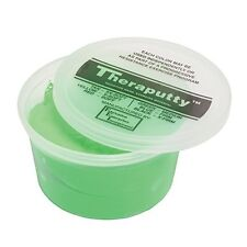 CanDo Antimicrobial Theraputty Exercise Material - 1 lb - Green - Medium
