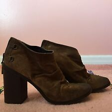 Boutique 9 Distressed Brown Boots