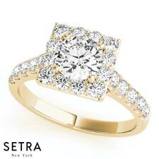 Semi Mount For Princess Cut Diamond