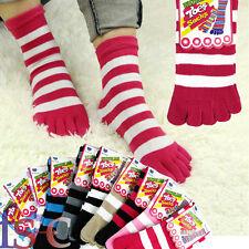 6 pairs Ladies Thick Winter Socks Warm Wool Novelty Toe Socks Xmas Gift