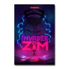 Invader ZIM TV Series Enter the Florpus Silk Canvas Poster Film Print 24x36 inch