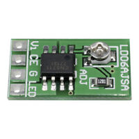 DC 2.8-6V 1.5A LED Driver 30-1500MA Constant Current PWM Control Board Module