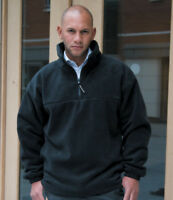 Result Polartherm? Zip Neck Lined Fleece Top S-3XL Mens Warm 1/4 Pullover