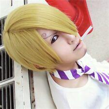 One Piece Sanji cosplay wig