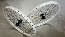 "Halo SAS Disc Wheels 26"" Mountain Bike Downhill Dirt Jump Wheelset (WHITE) Pair"