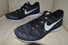 New Womens Nike Flyknit Lunar3 Lunar 3 Oreo Run Running Shoes 698182-001 sz 7.5