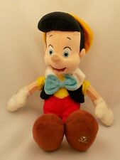Disney Store Plush Pinocchio Discontinued -Embroidered Face -16