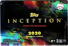 2020 Topps Inception Baseball Factory Sealed Hobby Box
