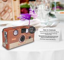 10 Kodak Brownie Vintage PERSONALIZED Wedding Disposable Cameras,retro,vintage
