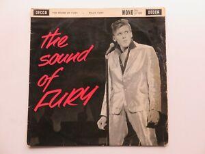 "BILLY FURY   ORIGINAL  1962  UK  10""  LP  SOUND  OF FURY  DECCA  LF 1329"