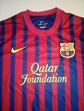 BARCELONA 2011 2012 SHIRT FOOTBALL HOME JERSEY SOCCER NIKE XL Qatar RARE BARCA