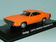 Greenlight 1/43 1970 Dodge Charger R/T Orange MiB