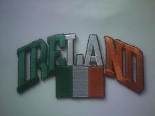 IRELAND FLAG ST. PATRICKS DAY MOTORCYCLE  BIKER VEST JACKET SHIRT HOODIE PATCH