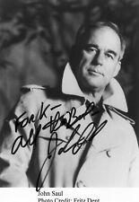 John Saul Autograph, Author, Horror & Suspense